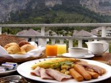Breakfast at the Peace Laguna Resort in Ao Nang