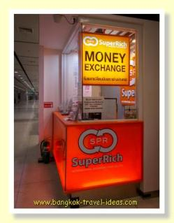 Superrich Bangkok Airport currency exchange
