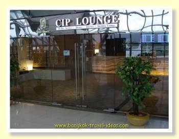 Bangkok Airport lounge for passengers