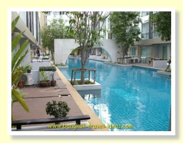 Condo swimming pool
