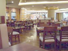Pizza shop in Seacon Square shopping mall