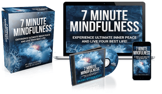 7 Minute Mindfulness course available as App, CD or printed copy