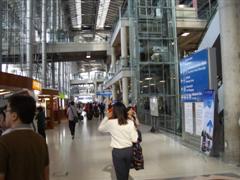 Bangkok airport arrival hall
