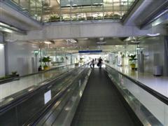 Bangkok Airport walkway