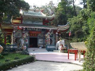 Chinese temple on Koh Chang