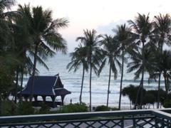 Ocean view from Centara Grand Samui hotel room