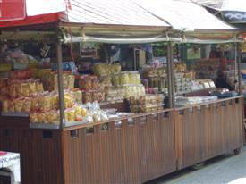 Amphawa market stall