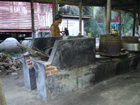 Sugar factory at Amphawa