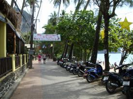 Ao Nang beach front