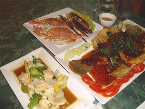 Ao Nang seafood treat