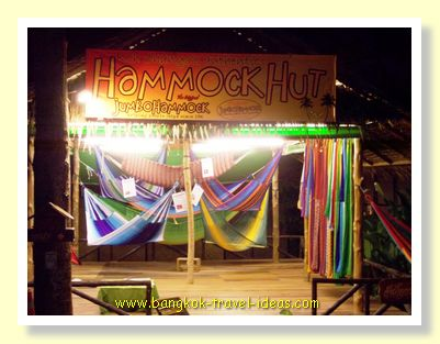 Visit the Hammock Hut in Bailan