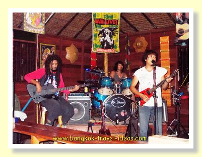 Reggae band in Koh Chang