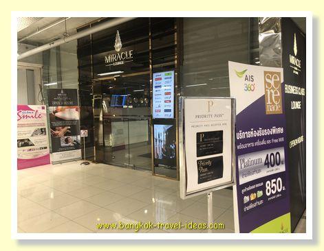 Miracle lounge at Suvarnabhumi Airport