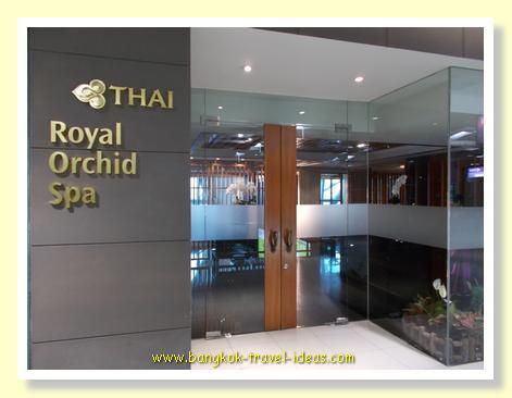 Thai Airways Royal Orchid Spa at Suvarnabhumi Airport Bangkok