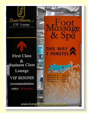 Chang Foot Massage and Spa at Suvarnabhumi Airport