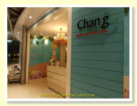 Chang Foot Massage and Spa at Bangkok Suvarnabhumi Airport