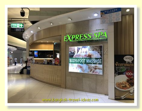 Express Spa Body and Foot Massage at Bangkok Airport