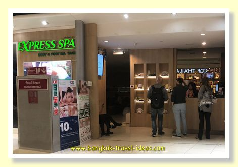 Express Spa Body and Foot Massage at Bangkok Airport Thailand