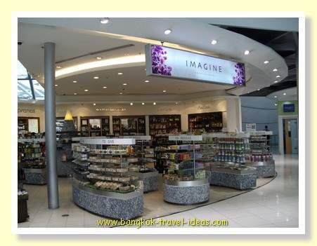 Imagine at Bangkok Airport Duty Free