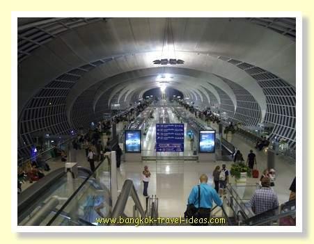 Departure at Bangkok Suvarnabhumi Airport