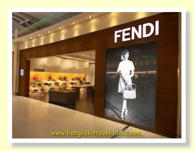 Fancy a genuine bag from Fendi, pick one up on your way out of Thailand
