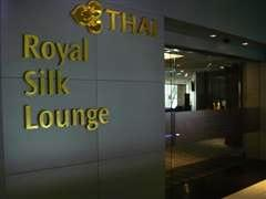 Thai Airways airline lounges, where you can shower and relax