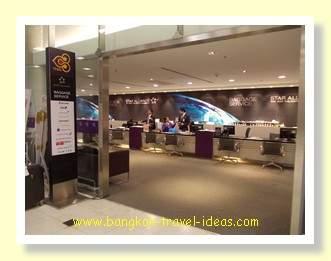 Bangkok Airport lost baggage office