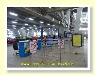 Suvarnabhumi  Airport taxi rank