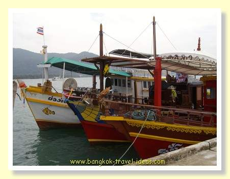 Koh Chang fishing trawlers