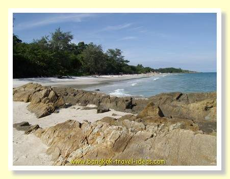 Bangkok beaches like those on Koh Samet are very rarely busy