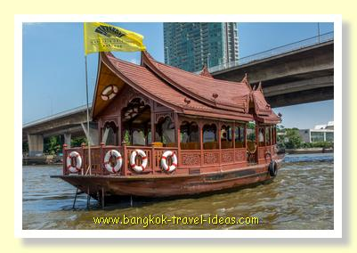 Shangri-la ferry boat on the Chaophraya River Bangkok