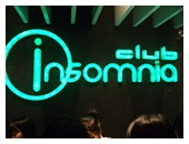Bangkok nightlife at Club Insomnia