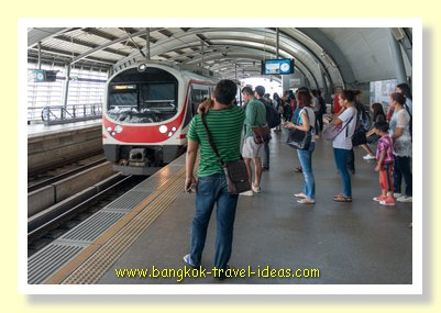 Airport Rail Link ((ARL) to Bangkok