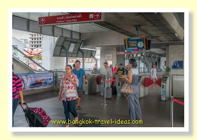 Bangkok Airport rail link station