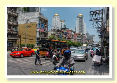 Looking towards Pratunam, Bangkok