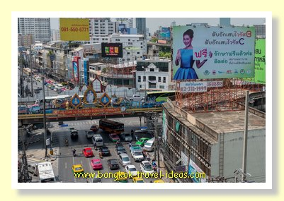 Phaya Thai station view