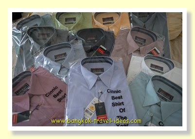 Business shirts in Bangkok