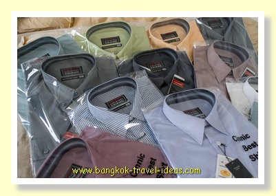 Bangkok business shirts