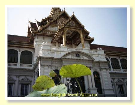Grand Palace Bangkok near to the Temple of the Emerald Buddha