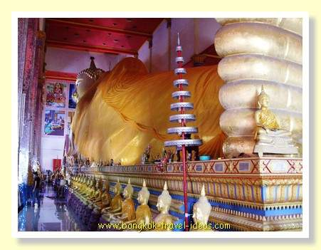 Longest reclining Buddha in Thailand