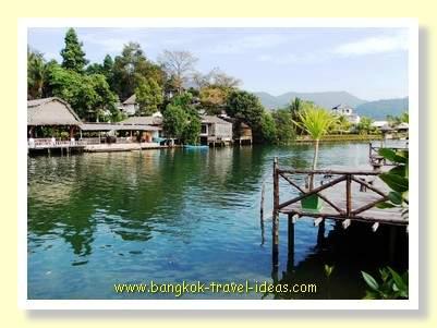 Klong Prao waterway