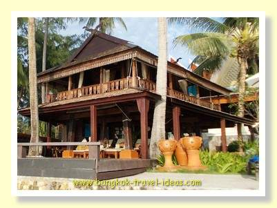 Massage at the Panviman Hotel on Klong Prao beach
