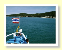 Boat to Koh Samet
