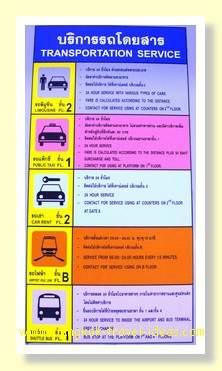 Bangkok Airport transfer options to Bangkok