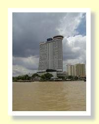Hilton Hotel on the Chaophrya River