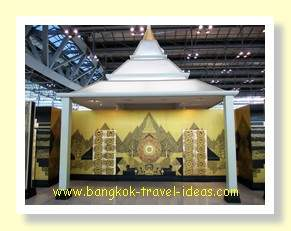Bangkok Suvarnabhumi Airport check in area