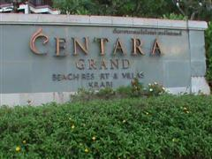 Centara Grand Krabi sign