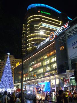 Celebrate New Year close to all the action at Central World Plaza