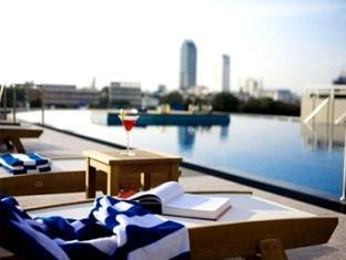 the Chatrium Hotel on the Chao Phraya River