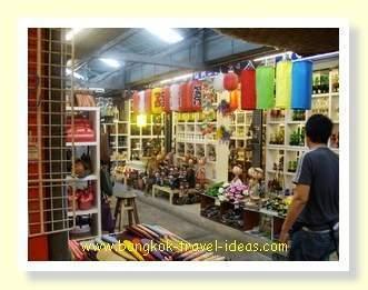 Chatuchak market lantern shop